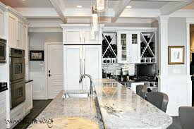 coffered ceiling paint ideas white brick backsplash tiles smooth