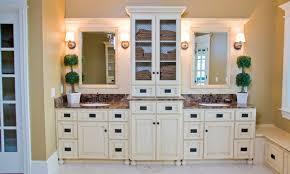 amish made bathroom cabinets hardwood custom bathroom cabinet schlabach wood design