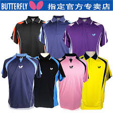 butterfly t shirt table tennis buy official monopoly butterfly imported japanese models of