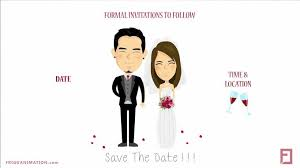 save the date templates save the date template 01 by frigg animation bridestory