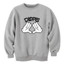 hands mens womens s grey sweatshirt fresh swag jay z bargain