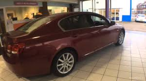 lexus gs300 sport for sale uk lexus gs 300 se red 2007 youtube
