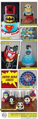 super hero cakes jellyfish prints