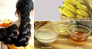 banana for hair how to grow hair fast and naturally in 5 days with banana remedies