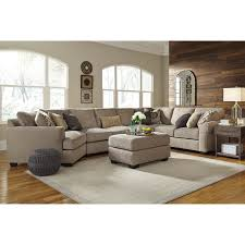 Cuddler Sofa Sectional 4 Piece Sectional With Left Cuddler U0026 Armless Sofa By Benchcraft