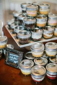 wedding cake jars i posted exles of cake in a jar on my page for
