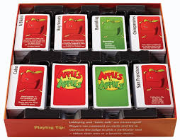 amazon com mattel apples to apples party box the game of crazy