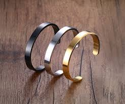 jewelry engraving gold bangles customized jewelry engraving stainless steel 6mm 8mm
