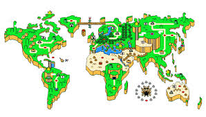 Super Mario World Map by Mario World Map Icon By Slamiticon On Deviantart