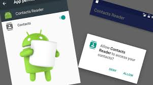 android model android 6 0 runtime permission model