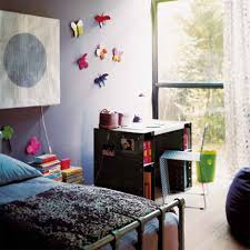 style chambre fille aménagement chambre enfant industrielle