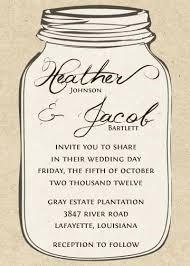 free mason jar invitation template template mason jar
