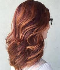 mahogany red hair with high lights 40 fresh trendy ideas for copper hair color