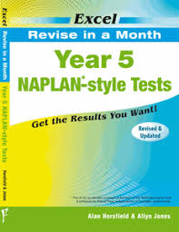 excel revise in a month year 5 naplan style tests pascal press