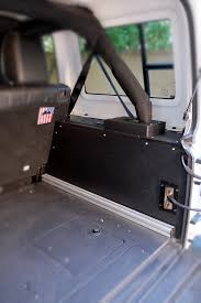 jku jeep jeep jku side cubbies for 2007 2017 4 door jeeps goose gear