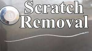 how to remove scratches from car permanently easy youtube