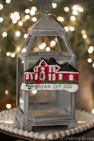 Christmas Ornaments Personalized Diy by How To Turn Your Home Into A Personalized Christmas Ornament