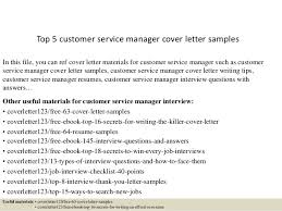 great cover letter sample for customer service manager 30 for