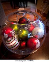 bowl of ornaments stock photos bowl of
