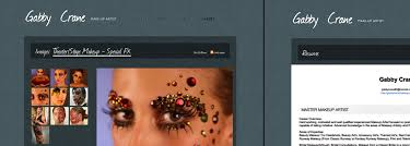 makeup artists websites exles of make up artist websites and make up artist portfolios