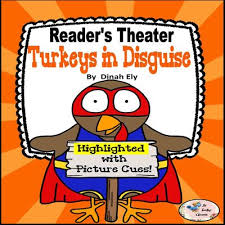 thanksgiving activities readers theater turkeys in disguise