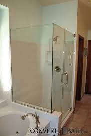 frameless glass convertabath