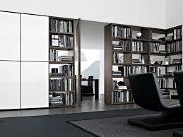 White Wooden Bookcase by Sectional Wooden Bookcase Wall System Wall System Collection By