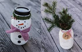 Decorate A Mason Jar For Christmas by Christmas Crafts Ideas Step By Step Blue Mountain