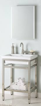 24 inch bathroom sink 24 inch single sink console bathroom vanity with choice of metal