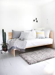 Bed Sofa White Wood Naut Design Japan Inspirational Pinterest
