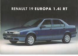 1983 renault alliance 1996 renault 19 europa turkish catalog page 1 2 u003c u003e 1996 renault 19