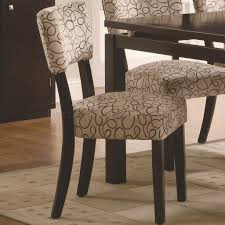 libby 7pc dining set by coaster in cappuccino w options