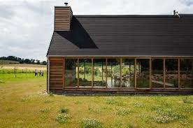 architektur ferienhaus das schwarze haus urlaub in der uckermark im designer ferienhaus