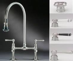 kitchen bridge faucets jaclo bridge faucet pull spray 1015 kitchen