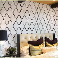 wall stencils for bedrooms home decor wall stencils modern bedroom new york by janna