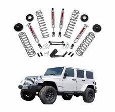 lift kit for 2007 jeep wrangler unlimited country 3 25 in suspension lift kit with performance shocks
