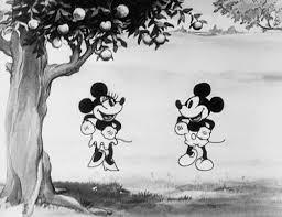 gif cute black white disney vintage classic dancing mickey