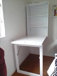 wall mounted desk ameriwood home eden black oak wallmounted desk