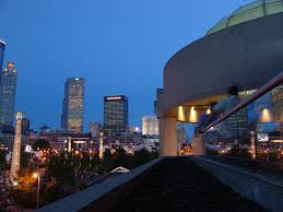 what is a wedding venue what a view beautiful atlanta skyline as the backdrop of your
