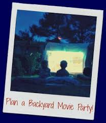 Backyard Movie Party by Outdoor Movie Party Ideas Host A Backyard Movie Party