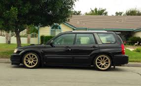 slammed subaru baja ft for trade ca socal 2004 forester xt sti content 5