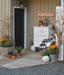 Fall Porch Decorating Ideas Cottage Fall Porch
