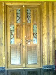 kerala style home front door design kerala interior designdecorations and wood works front panel doors
