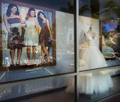bridal store a bridal chain closes and scrambling ensues the boston globe