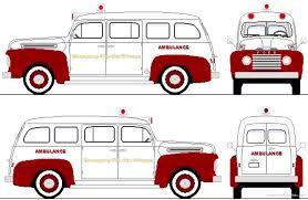 cars ford the blueprints com blueprints u003e cars u003e ford u003e ford f1 ambulance