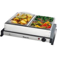 Buffet Server With Warming Tray by Magic Chef Buffet Server Walmart Com