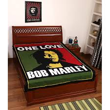 amazon com beautiful bob marley print 100 cotton bed cover
