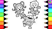 coloring pages paw patrol christmas gifts fun colouring videos