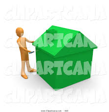Energy Efficient Home by Clip Art Of An Orange Man Using A Screwdriver To Finish Off A