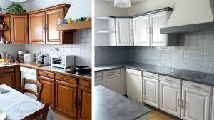 repeindre une cuisine en chene peinture renovation meuble cuisine peinture sur meuble cuisine